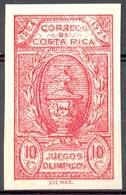 Costa Rica - 1924 - Yt 134 - Jeux Olympiques Centroaméricains *  Charnière Non Dentelé - Costa Rica