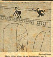 Wird Ihre Wohnung Frei? / Cartoon,entnommen Aus Zeitschrift / 1946 - Livres, BD, Revues