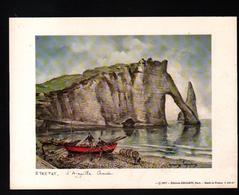 """Maurice Legendre, Editions Krisarts, Paris, 20 X 15 Cm, ETRETAT, L""""aiguille Creuse - Gravures"""