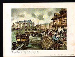 Maurice Legendre, Editions Krisarts, Paris, 20 X 15 Cm, Trouville, Le Port De Peche - Engravings