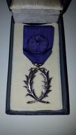 Médaille Civile   Palmes Academique    Officier    (monnaie De Paris) - Army & War