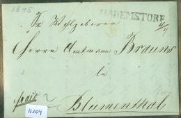 HANDGESCHREVEN BRIEF Uit 1845 Gelopen Van AHLDEN Via HADEMSTORF Naar BLUMENTHAL  (11.104) - Hanover