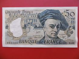 BILLET 50 FRANCS QUENTIN DE LA TOUR 1983 SERIE P.32 - 1962-1997 ''Francs''