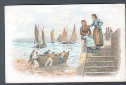 Cicorée Arlatte, Scène De Bord De Mer - Künstlerkarten