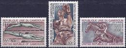 Cameroon 1972 - Munich Olympics ( Mi 700/02 - YT Pa 202/04 ) MNH** Complete Series - Cameroun (1960-...)