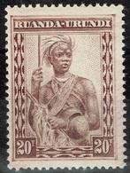 Ruanda-Urundi - 1931 - Y&T N° 106**, Neuf Sans Trace De Charnière - Ruanda-Urundi