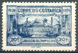 Costa Rica - 1924 - Yt 135 - Jeux Olympiques Centroaméricains ** Dentelé - Costa Rica
