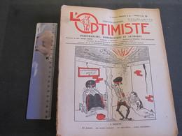 L'OPTIMISTE - Bruxelles 7/4/45 - 2e Année N°14- A BERLIN - Journaux - Quotidiens