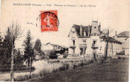 "V13414 Cpa 23 Bourganeuf - Villa "" Marthe Et Gabriel"" Rue De L'Arrier - Bourganeuf"