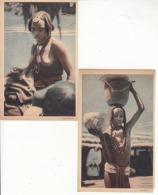 Thad - 2 Cartes Sur Petite Fille Et Femme Baguirmienne    : Achat Immédiat - Chad