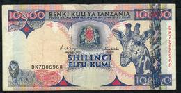 TANZANIA P33 10.000 SHILLINGS 1997 VF NO P.h. - Tanzanie