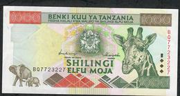 TANZANIA P31 1000 SHILLINGS 1997 XF NO P.h. - Tanzanie