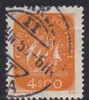 Portugal SG 953a 1943 Definitives 4e Orange, Used - 1910-... République