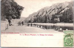 Belgique - NAMUR - HASTIERE - La Meuse à Waulsort, Le Halage - Namur