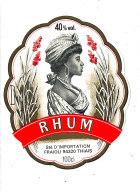 955/  ETIQUETTE DE   RHUM  VIEUX  FRAIOLI FRERES THIAIS  (SEINE) - Rhum