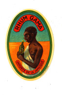 957 /  ETIQUETTE DE   RHUM   GAMA INPORTE DE LA JAMAIQUE - Rhum