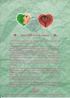 Notice Philatélique 1er Jour FDC 3295-6 Yt, 2000, St Valentin, Coeurs Yves St Laurent - Documents De La Poste