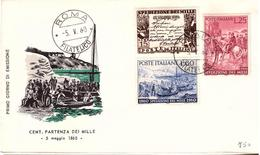 Fdc Milvio: SPEDIZIONE MILLE (1960); No Viaggiata; AF_Roma - 6. 1946-.. Repubblica
