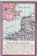 """AK-Kennen Sie Schon """"Die Grosse Zeit"""" Kriegskarte Landkarte MAP Ca 1930, 2 Scans - Guerra 1939-45"""