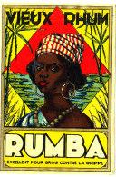 966 /  ETIQUETTE DE   RHUM  -  VIEUX RHUM  RUMBA - Rhum