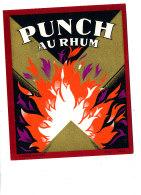 968 /  ETIQUETTE DE   RHUM  -   PUNCH AU RHOM - Rhum