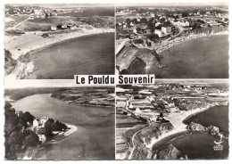 CPSM GF 29 - LE POULDU (Finistère) - Souvenir. En Avion Au-dessus De ... - Le Pouldu