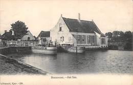 CPA -  Belgique,  BOESINGHE ( Leper / Ypres ) Het Sas - Ieper