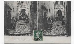 ALGER - RUE KLEBER - VUES STEREOSCOPIQUES - CPA VOYAGEE - Algiers