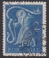 Portugal SG 1043 1950 400th Death Anniversary San Juan De Dios, 2e Blue, Used - 1910-... República