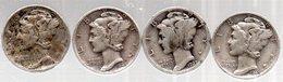 4.One Dime.1927-1936-1945-1945- - Émissions Fédérales