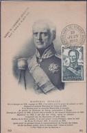 Carte Maximum Burgeaud 1949 Centenaire Du Timbre - 1950-59