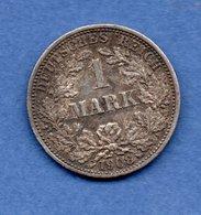 Allemagne  -  1 Mark 1908 F   -  Km # 14  --  état  TTB+ - [ 2] 1871-1918: Deutsches Kaiserreich