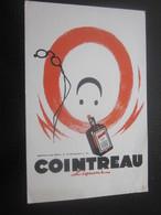 BUVARD COINTREAU Liqueur & Bière Signé Jean A. Mercier Pour Cahier école & Autres - Liquor & Beer