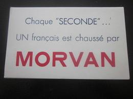 BUVARD MORVAN SANDALE CHAUSSURES SEMELLE CAOUTCHOUC  Pour Cahier école & Autres - Liquor & Beer