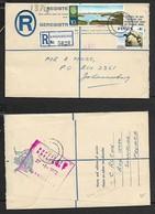 S.Africa, Registered Cover  BRONBERG 21 VI 72 >Johannesburg , Violet  Cachet DUPLICATE 27-6-1972 JOHANNESBURG - South Africa (1961-...)