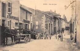 54 - MEURTHE ET MOSELLE / Foug - 542718 - Rue Des Jeux - Beau Cliché Animé - Foug