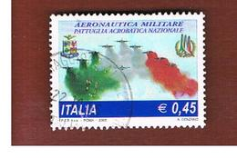 ITALIA REPUBBLICA  -   2005   PATTUGLIA ACROBATICA NAZIONALE   -   USATO  ° - 1946-.. République