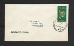 S.Africa, Rugby Board Johannesburg 8.V.64 (1st Day) C,d,s On 2 1/2c Plain FDC - South Africa (1961-...)