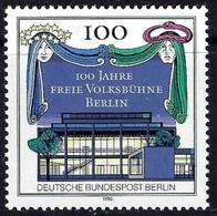 E131- Germany Berlin 1990 Free Theater. - Germany