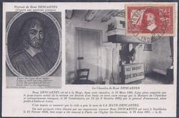 Carte Maximum Descartes 1937 - Maximum Cards