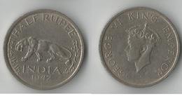 INDE HALF RUPEE 1947 - Inde