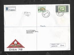 South African DISA 79 PIGEON POST No R664, Inside Sealed Envelope, Posted REGISTERED ROGGEBAAI 22.v. 79 - South Africa (1961-...)