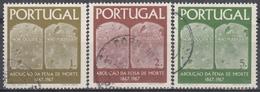 PORTUGAL 1967 Nº 1027/29 USADO - 1910-... République