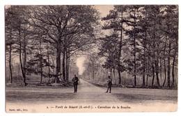 1255- Forêt De Sénart ( S.et O. ) - Carrefour De La Souche - Buret éd. à Ivry - N°2 - - Autres Communes