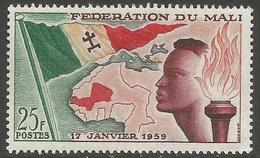 Mali - 1959 Federation Of Mali 25f MNH **   Sc 1 - Mali (1959-...)