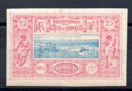 SOMALIS - YT N° 12 - Neuf * - MH - Cote: 37,00 € - French Somali Coast (1894-1967)