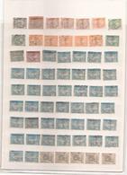 ALGERIE LOT DE 126 TIMBRES TOUT ETAT PRINCIPALEMENT OBLITERE - Algérie (1924-1962)