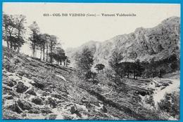 CPA 20 2B Haute-Corse - COL De VERGIO Versant VALDANIELLO (ALBERTACCE) ° Coll. A. Guittard Phot. N° 612 - France