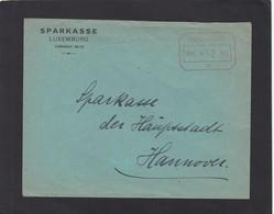 SPARKASSE,LUXEMBURG.FREISTEMPEL. - 1940-1944 Occupation Allemande