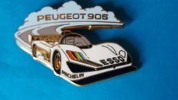 Super Pin's PEUGEOT 905  Arthus Bertrand - Peugeot